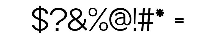 POE Sans Pro Light Font OTHER CHARS