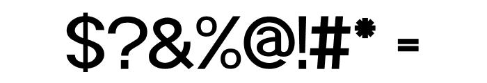 POE Sans Pro Medium Font OTHER CHARS