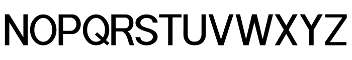 POE Sans Pro Medium Font UPPERCASE