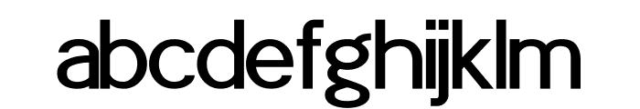 POE Sans Pro Medium Font LOWERCASE