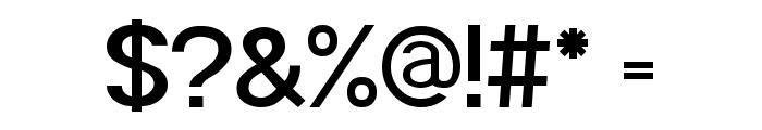 POE Sans Pro Semi-bold Font OTHER CHARS