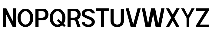 POE Sans Pro Semi-bold Font UPPERCASE
