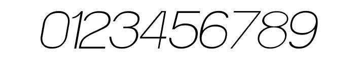 POE Sans Pro Thin Italic Font OTHER CHARS