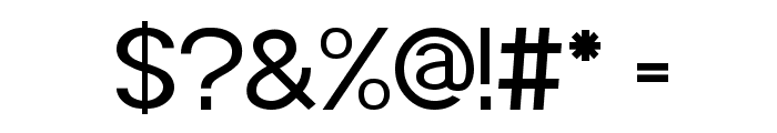 POE Sans Pro Font OTHER CHARS