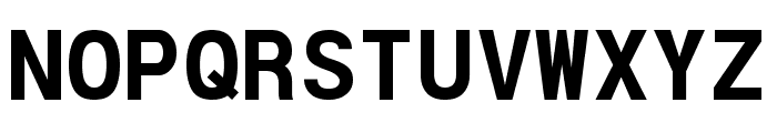 POE Vetica Monospace Bold Font UPPERCASE