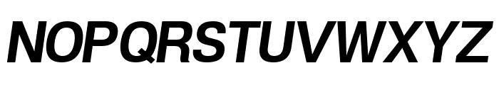 POE Vetica New Bold Italic Font UPPERCASE