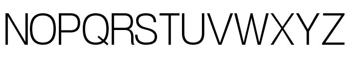 POE Vetica New Light Font UPPERCASE