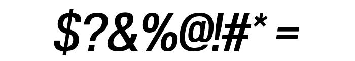 POE Vetica New Medium Italic Font OTHER CHARS