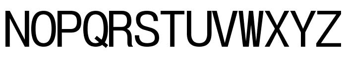 POE Vetica New Mono Font UPPERCASE