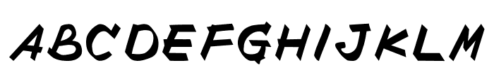 POINTOFPURCHASE Font UPPERCASE