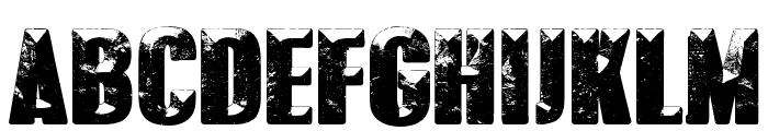 POLAR VORTEX Font UPPERCASE