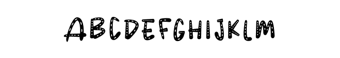 POLKANDOT Font UPPERCASE