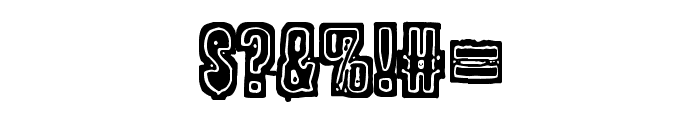 POLLUX9201 Font OTHER CHARS
