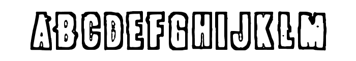 POLLUX9300 Font UPPERCASE