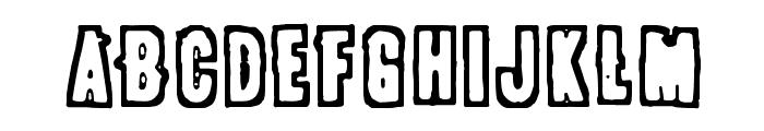 POLLUX9300 Font LOWERCASE