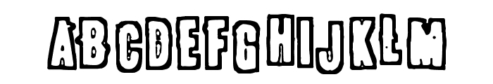 POLLUX9301 Font UPPERCASE