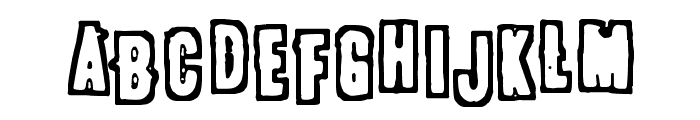 POLLUX9301 Font LOWERCASE