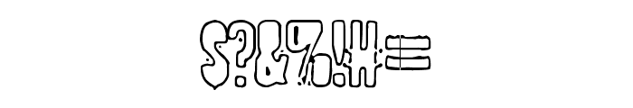 POLLUX9401 Font OTHER CHARS