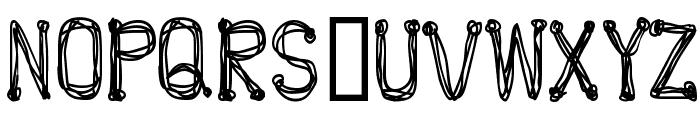 POP Font UPPERCASE