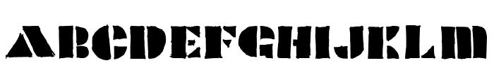 POPCORN Font UPPERCASE