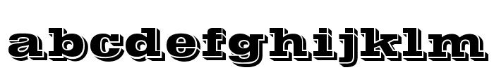 POSTOFFICE Font LOWERCASE