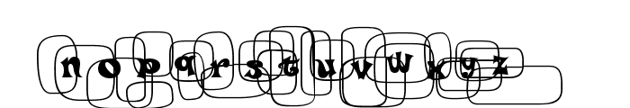 Po Beef Font UPPERCASE