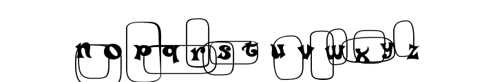 Po Beef Font LOWERCASE