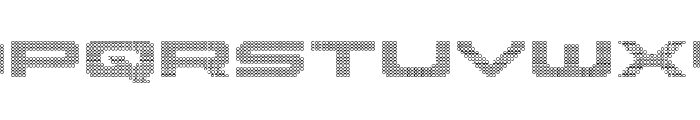 Pocket Ball 3D Font UPPERCASE