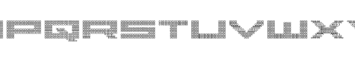 Pocket Ball 3D Font LOWERCASE