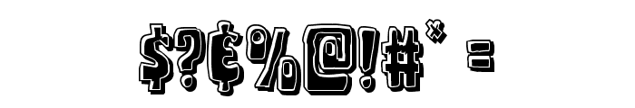 Pocket Monster Bevel Font OTHER CHARS