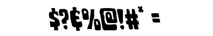 Pocket Monster Leftalic Font OTHER CHARS