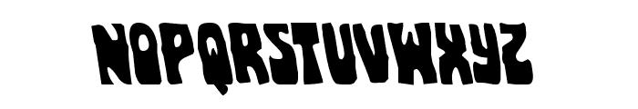 Pocket Monster Leftalic Font LOWERCASE