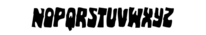 Pocket Monster Rotated 2 Font LOWERCASE