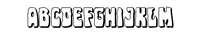 Pocket Monster Shadow Font LOWERCASE