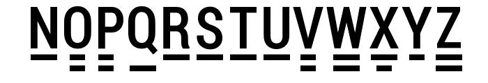 Pocket Thrilled FP Font LOWERCASE