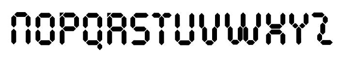 PocketCalculatorOT Font UPPERCASE