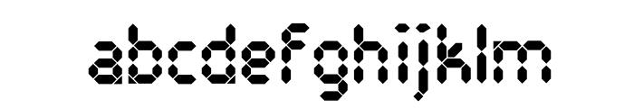 PocketCalculatorOT Font LOWERCASE