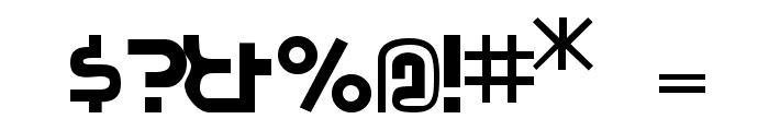 Pocono Font OTHER CHARS