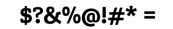 Podkova Bold Font OTHER CHARS