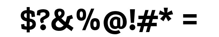 Podkova ExtraBold Font OTHER CHARS