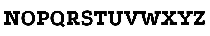 Podkova ExtraBold Font UPPERCASE