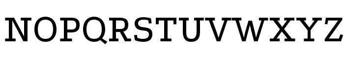 Podkova-Regular Font UPPERCASE
