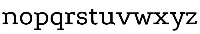 Podkova VF Beta Regular Font LOWERCASE