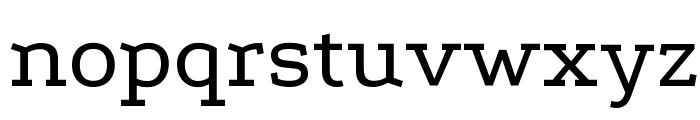Podkova Font LOWERCASE