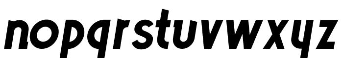 Poets Bold Italic Font LOWERCASE