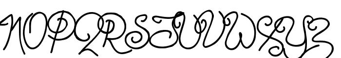 Point-Dexter Font UPPERCASE