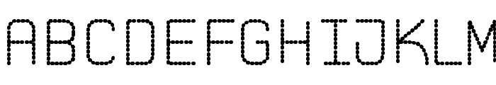 Pointed Laid St Font LOWERCASE