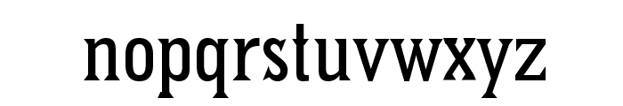 Pointed Font LOWERCASE