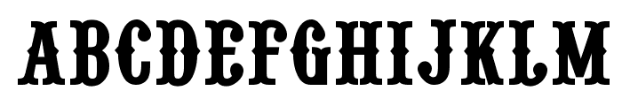 Pointedly Mad SmallCaps Font UPPERCASE