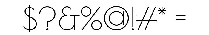 Poiret One Regular Font OTHER CHARS